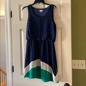 Pixley Florence Colorblock Dress, Size M, EUC